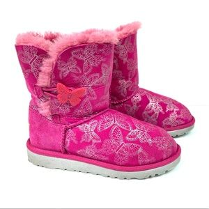 UGG Australia Bailey Button Butterfly Boot size 2